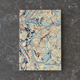 Lined Marbled Notebook