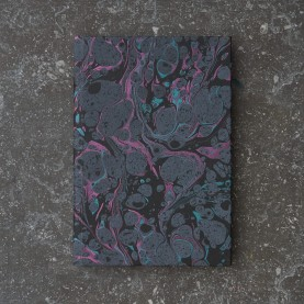 Lined Metallic Marbled...