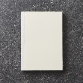 Blank Ivory notebook block
