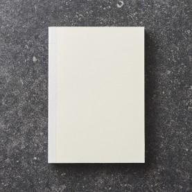 Blank Ivory notebook block