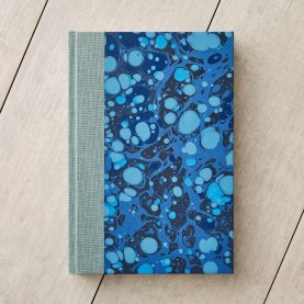 Marbled Notebook with Cloth...