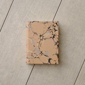 Metallic Marbled Notebook